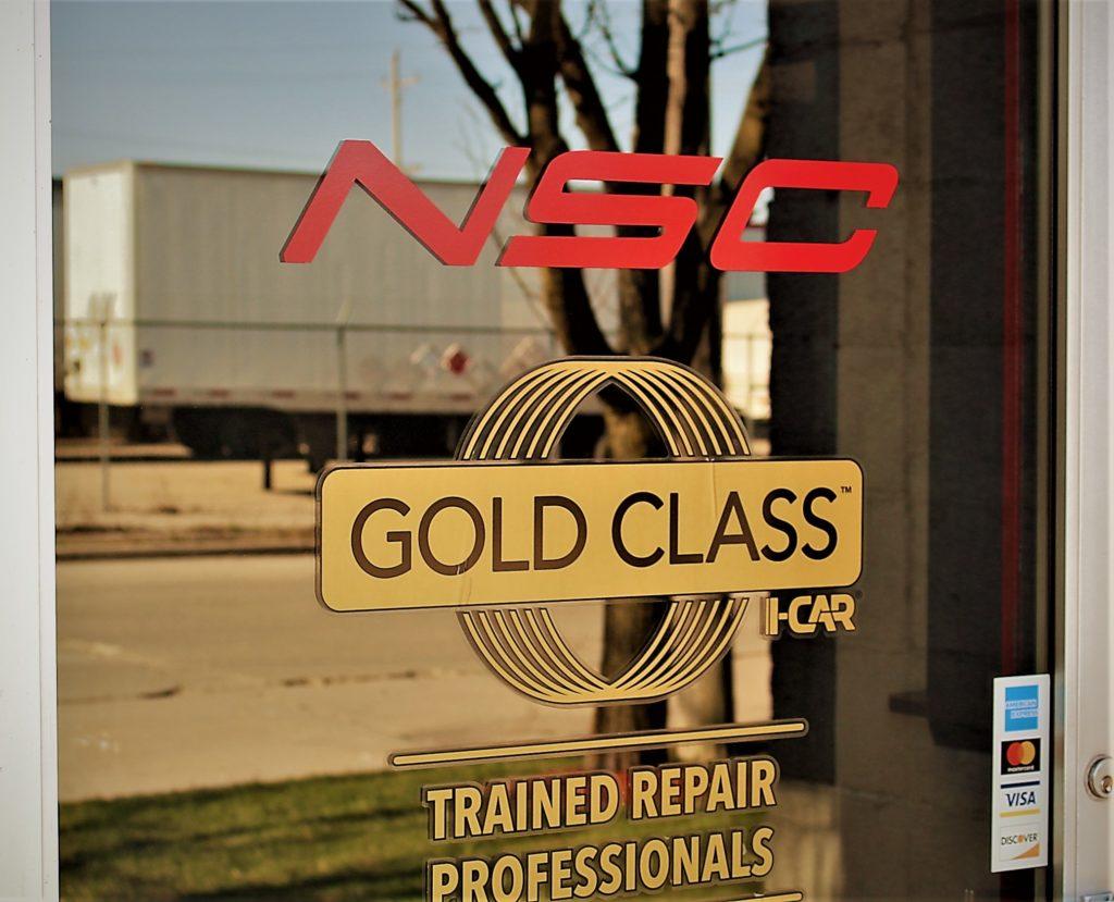 NSC Gold Class door
